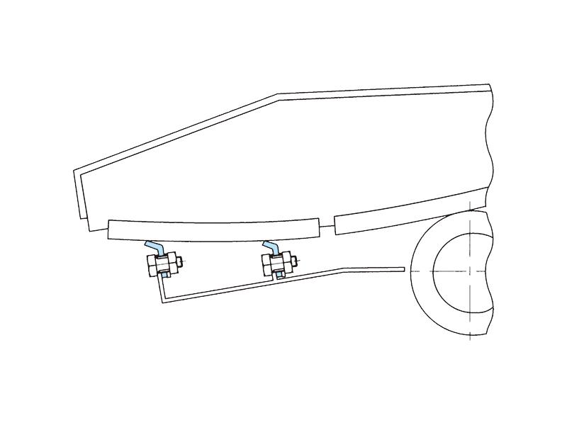 鉄道車両振子装置用防塵リップの画像