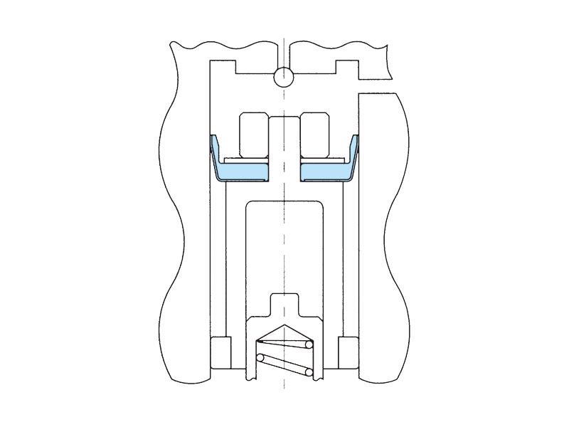 気化器用ピストンパッキンの画像