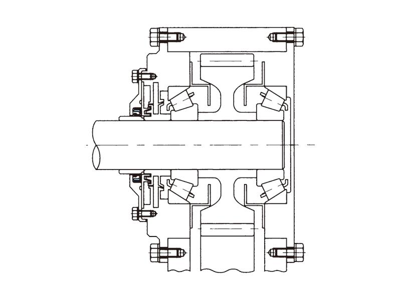 鉄道車両歯車箱用防水シールの画像